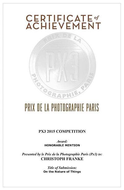 2015 PX3 Paris Award